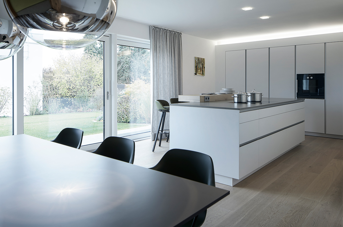 Küchenplanung Einfamilienhaus